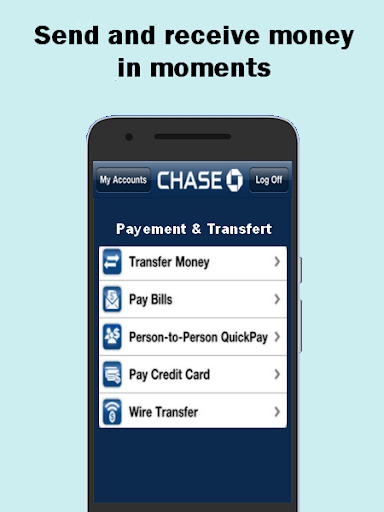 Quickpay - with chase advice 3 screenshots 1