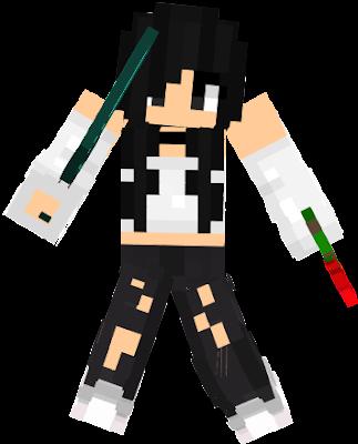 I hope you enjoy this skin I made the hair, eyes, skin tone, and I edited the pants.