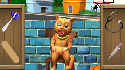 Talking Cat Leo: Virtual Pet 3.0 screenshots 1