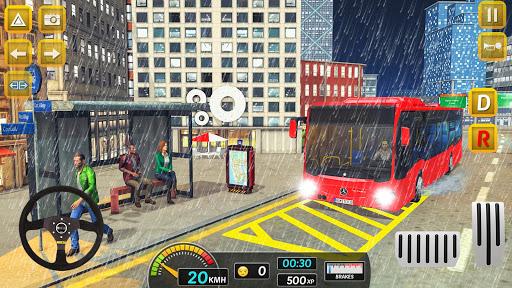 Modern City Bus Drive Parking Games-WG Bus Game 1.18 screenshots 3