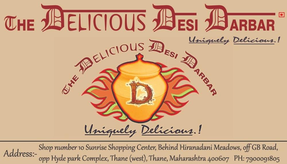 The Delicious Desi Darbar menu 1