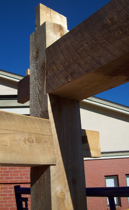 Simple Timber Frame... (roundwood and timber framing forum at permies)