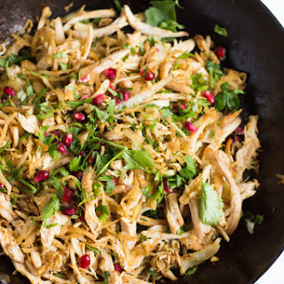 Easy Chicken Cabbage Stir-Fry with Pomegranate Recipe