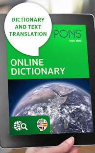 PONS Online Dictionary- screenshot thumbnail