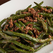 Sauteed String Beans (Pork)