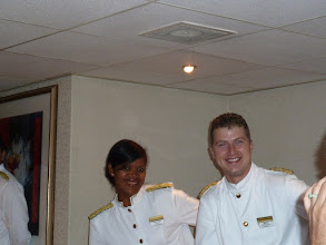 Photo: Robert was our head waiter, and Virgin Maria was our waitress - she was funny and a really good sport!