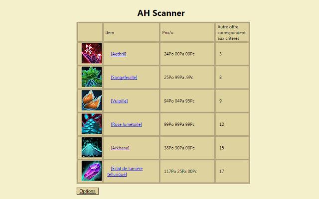 AH Scanner