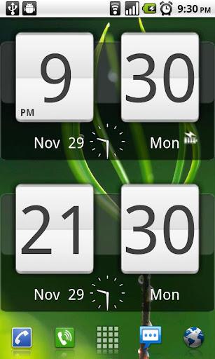 Sense Analog Clock Widget 24 screenshot 2