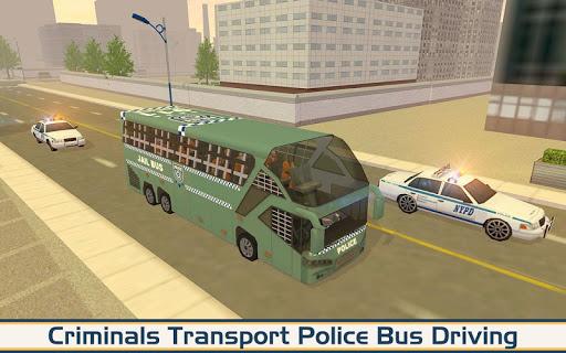 Angry Criminals Transport: Police Bus Sim 1.3 screenshots 1