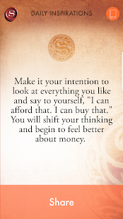 The Secret To Money by Rhonda Byrne Screenshot