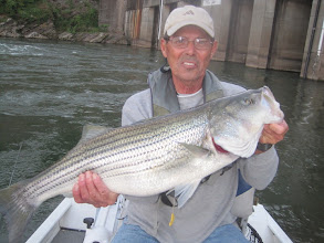 Photo: May 10, 2012 - Norman Neel in Watts Bar Tailrace