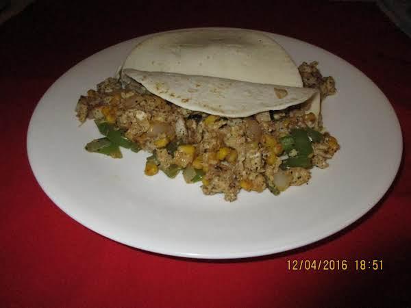 Tex-mex Street Breakfast Taco (sallye)