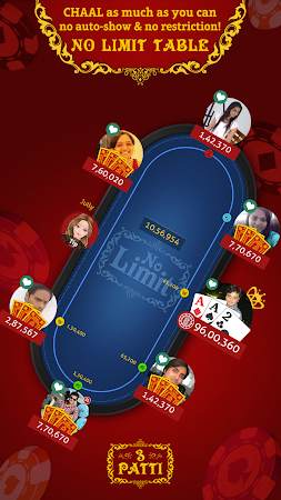 Teen Patti Indian Poker 6.4 screenshot 556220