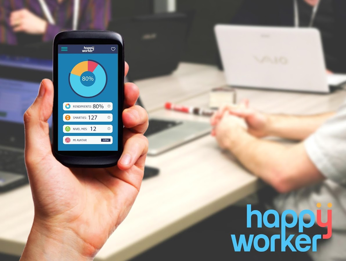 Happy Worker: captura de pantalla