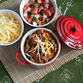Low Calorie Turkey Chili #SundaySupper.
