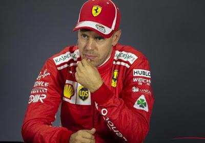 F1: Sainz le plus rapide, Vettel percute le mur de pneus