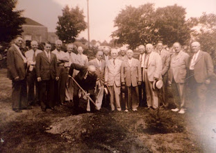 Photo: Planting Trees - one of the traditional initiatives of Rotary from the early days on today