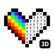 No.Draw - 3D Color by Number