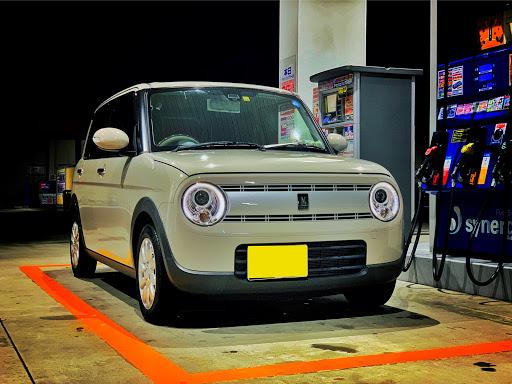 まりぴさんのアルトラパンHE33S洗車の画像