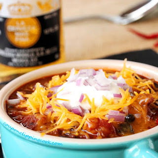 Spicy Chipotle and Pasilla Chili con Carne