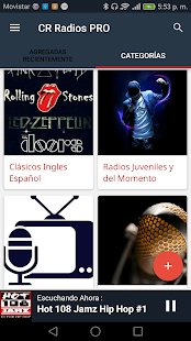 CR Radios PRO - náhled