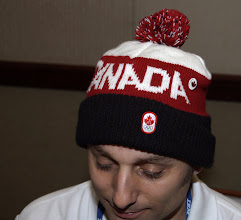 Photo: Ian Bull during p2 tutorial at EclipseCon 2010.  Canada had just won the gold medal in Olympic hockey.