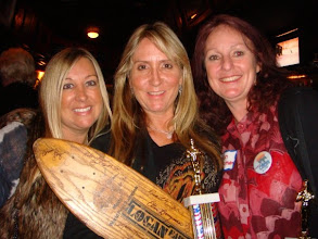 Photo: Cindy Whitehead, Laura Thornhill & Ellen Berryman at the La Costa Reunion