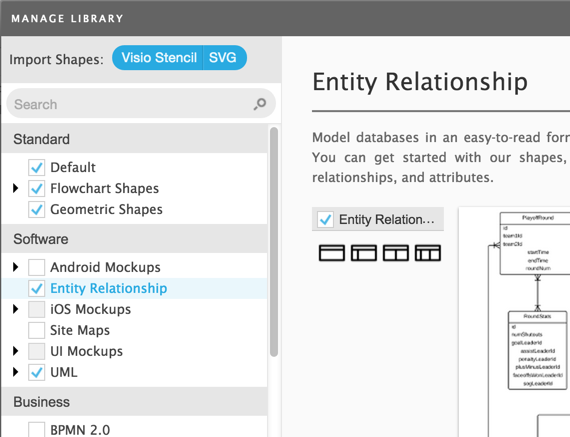 Entity Relationships in Lucidchart | Cloudbakers