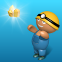 Miner - Collect the gold with the treasure hunter icon
