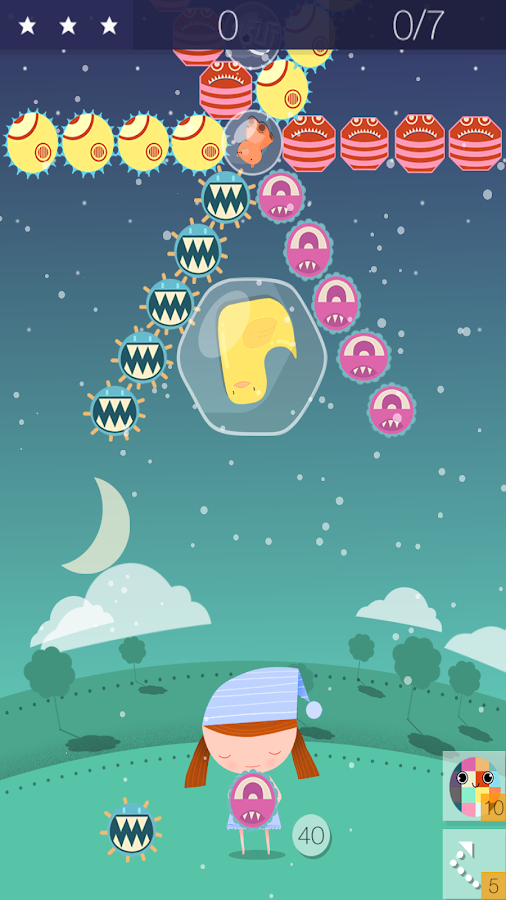 Bubble Monsters Popper- screenshot