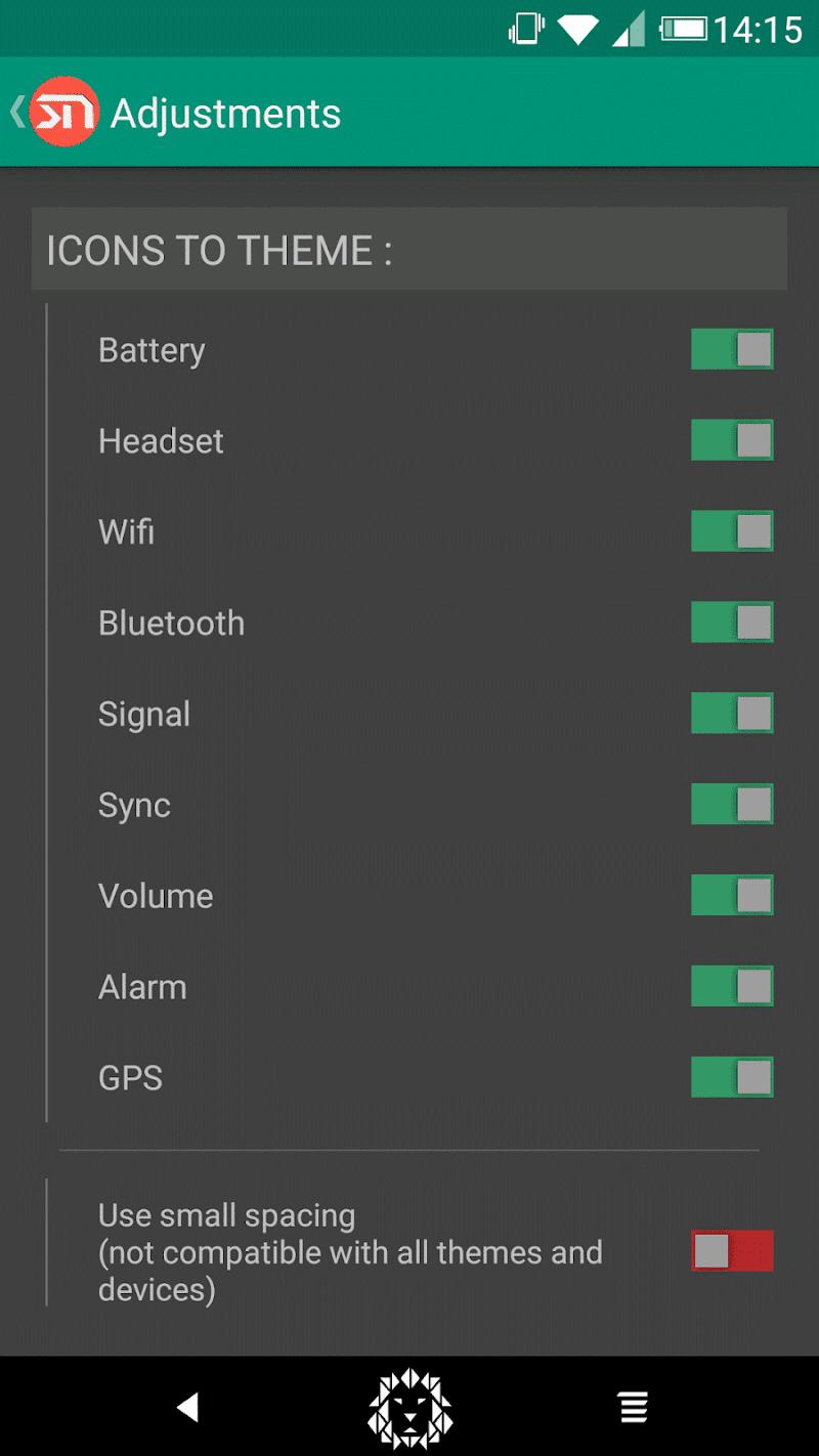 Xstana : Statusbars & Navbars [Xposed] Screenshot 4