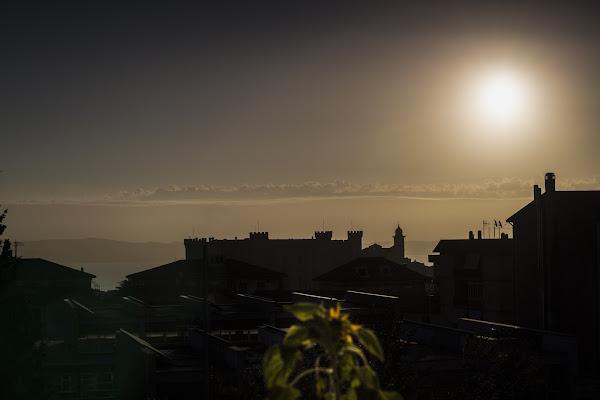 Alba sul Castello di AndreaSaccoPh