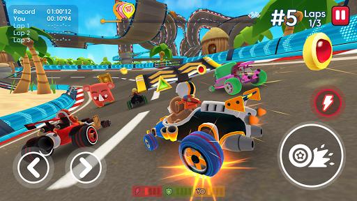 Télécharger Gratuit Starlit On Wheels: Super Kart APK MOD (Astuce) screenshots 1