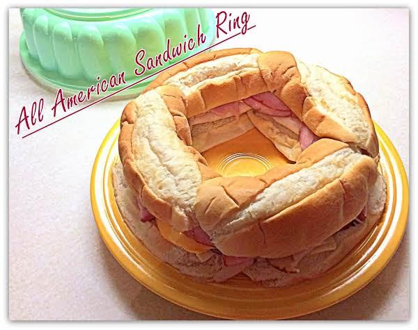All American Sandwich Ring Recipe