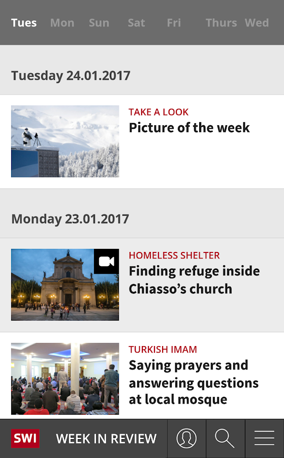 swissinfo.ch- screenshot