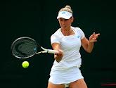 Elise Mertens geeft na setverlies met dubbelpartner niets meer prijs en gaat verder op Wimbledon