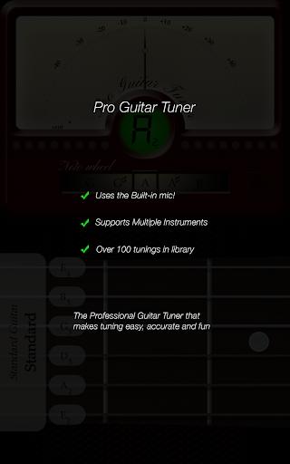 Pro Guitar Tuner 3.1.3 screenshots 8