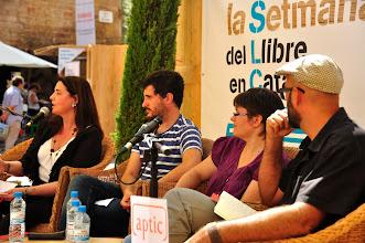 Photo: D'esquerra a dreta: MARIA LLOPIS, FRANCESC ROVIRA, ANNA LLISTERRI, CARLOS MAYOR