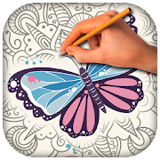 Butterfly Anti Stress Coloring