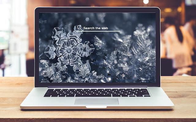 Snowflakes HD Wallpaper New Tab Theme