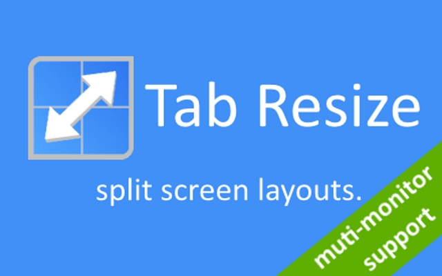 tab resize- extensions chrome web store