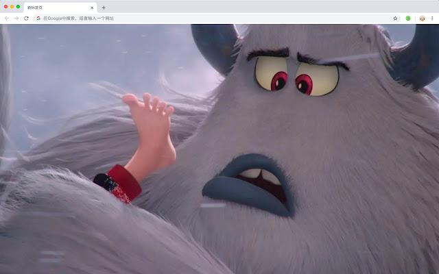 small foot HD New Tabs Popular Movies Themes