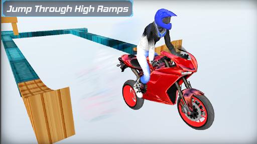 Bike Racing in sky 3D  screenshots 4