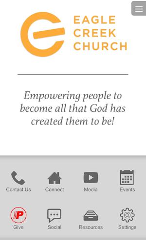 Eagle Creek Church App