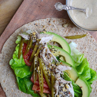 Chicken and Avocado Wraps
