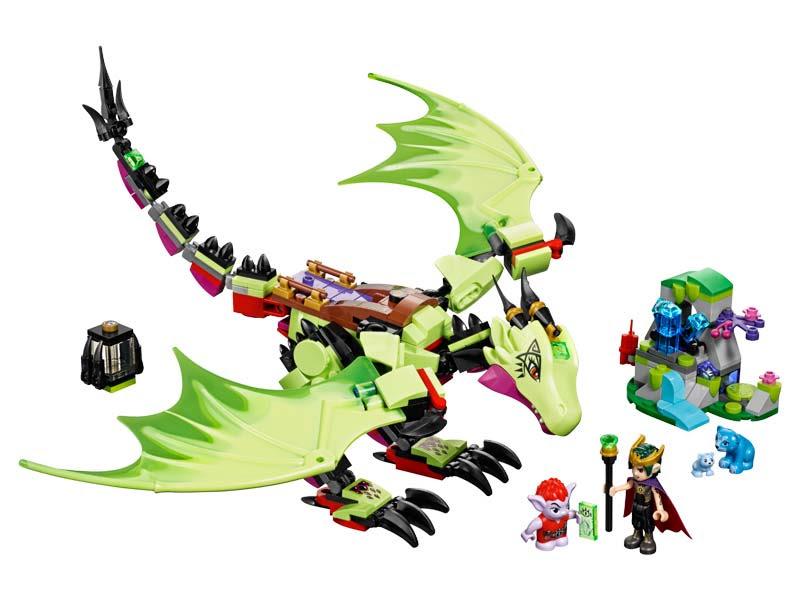 Contenido de Lego® 41183 Dragón Malvado del Rey de los Duendes