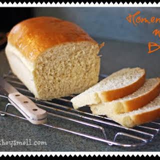 Homemade White Bread.