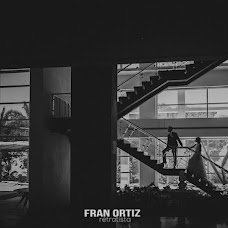 Wedding photographer Fran Ortiz (franortiz). Photo of 17.09.2016