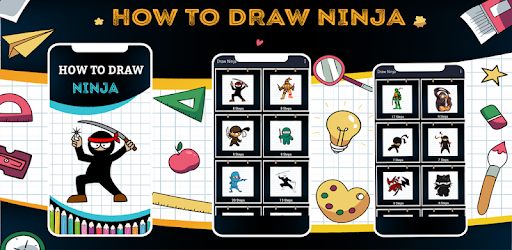How To Draw Ninja Step By Step Apps On Google Play