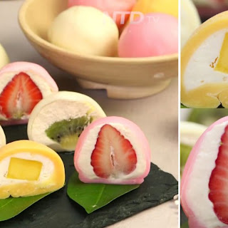 Refreshing And Delightful Dessert With Your Favorite Fruit Wrapped In Soft Mochi Shell..